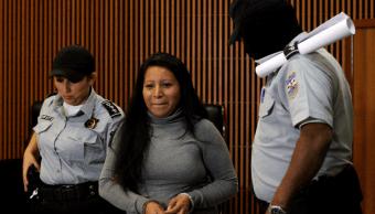 Teodora Vásquez fue condenada a 30 años de prisión
