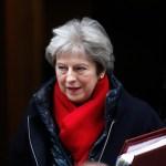 May no acepta borrador Brexit porque amenaza integridad constitucional de Reino Unido