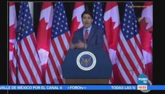 TLCAN es un éxito que debe ser modernizado: Trudeau