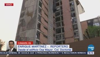 Trabajos Demolición Edificio Osa Mayor