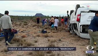 Trasladan a 'Marichuy' a hospital de La Paz, Baja California