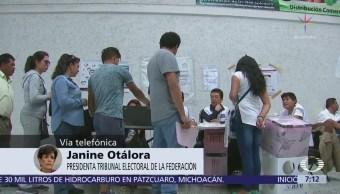 Tribunal electoral explica determinación sobre resultados preliminares