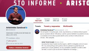 Gobernador de Jalisco y Javier Corral intercambian mensajes en Twitter