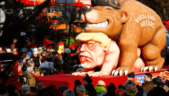 Alemania celebra su carnaval con música, bailes y carrozas