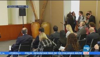 Videgaray Dialoga Seguridad Migración Tillerson