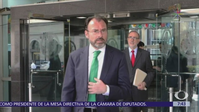 Videgaray se reunió en Washington con John Kelly y Jared Kushner