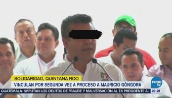 Vinculan por segunda vez a proceso a exalcalde de Solidaridad, Quintana Roo