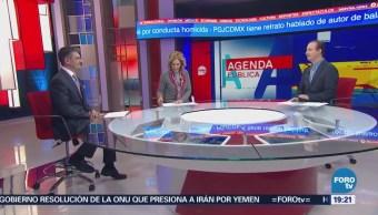 Violencia Inseguridad Cdmx Francisco Ricas, Director Del Observatorio Nacional Y María Elena Morera, Presidenta De Causa En Común