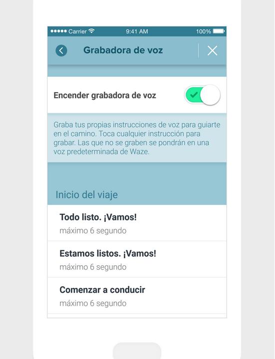 Waze ofrece herramientas diferentes para interactuar mejor con el usuario