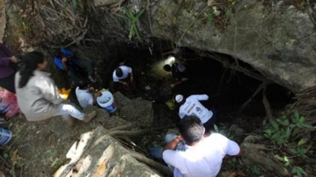 retiran mas 700 kilos basura cenote zazil ha yucatan