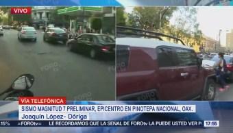 Zona Polanco Presentó Daños Tras Sismo Magnitud 7.2
