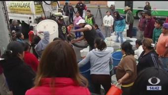 32% Hogares Mexicanos Cuentan Agua Diariamente