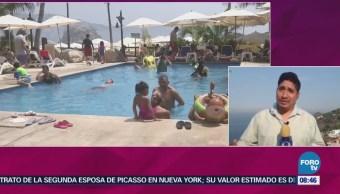 Turistas Llenan Playas Acapulco