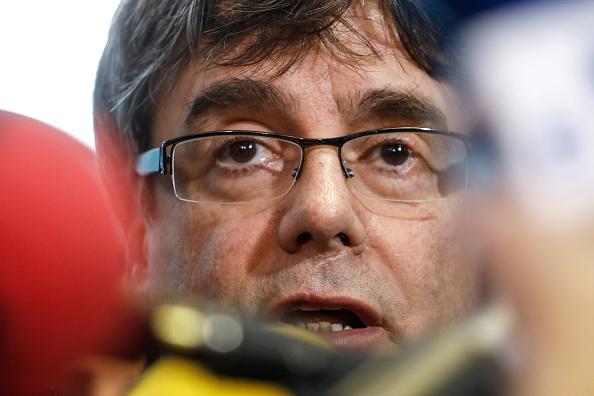 Carles Puigdemont fue detenido en Alemania