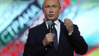 Vladimir Putin busca la reelección en comicios rusos