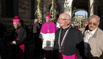 Jerusalén celebra la tradicional procesión del Domingo de Ramos