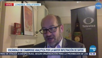 Escándalo Cambridge Analytica Mayor Infiltración Datos