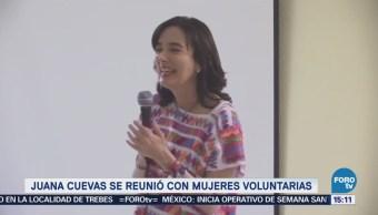 Juana Cuevas Reconoce Voluntariado