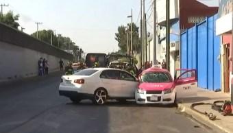 Mueren tres personas en accidente automovilístico en Iztapalapa