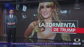 Actriz porno Stormy Daniels pide a juez declarar nulo acuerdo confidencialidad con Trump