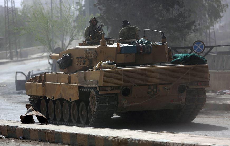 Fuentes militares aseguran que Turquía toma control de Afrin