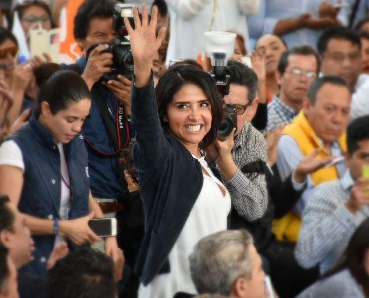 Alejandra Barrales presentará a integrante de su equipo de campaña, este lunes