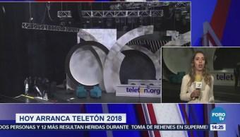 Alistan Frontón México Realización Teletón 2018