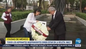 Amlo Apoya Ríos Piter El Bronco Boleta Electoral