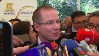 Anaya cuestiona actuación de la PGR por caso de César Duarte