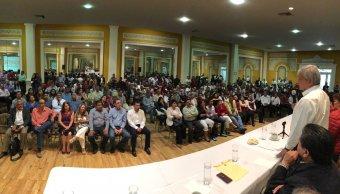 López Obrador pide un compromiso anti fraude electoral