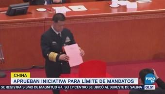 Aprueban Iniciativa Para Límite Mandatos China