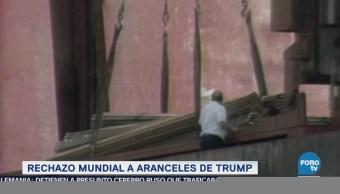 Aranceles Anunciados Trump Desatan Reacciones Mundo