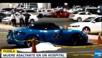 investigan muerte de un presunto asaltante a manos de conductor en puebla