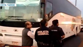Asaltan un autobús de pasajeros en la carretera Ecatepec-Pirámides