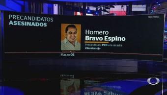 Asesinan a otro precandidato del PRD, en Guerrero