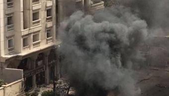 Explosión de coche bomba deja al menos dos muertos en Alejandría, Egipto