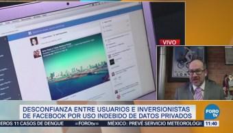 Aumenta desconfianza entre usuarios de Facebook por uso indebido de datos