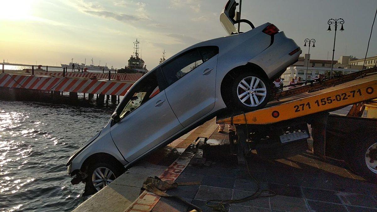 Malecón de Veracruz: Lo que pasa cuando manejas después de beber