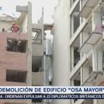 Avanza demolición de edificio 'Osa Mayor'
