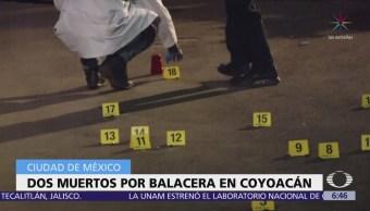 Balacera en Pedregal de Santo Domingo, CDMX deja dos muertos y tres heridos