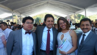 Celebran boda masiva en Cholula, Puebla