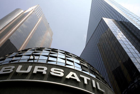 La Bolsa Mexicana inicia operaciones con pérdida
