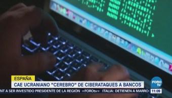 Cae ucraniano 'cerebro' de ciberataques a bancos en España