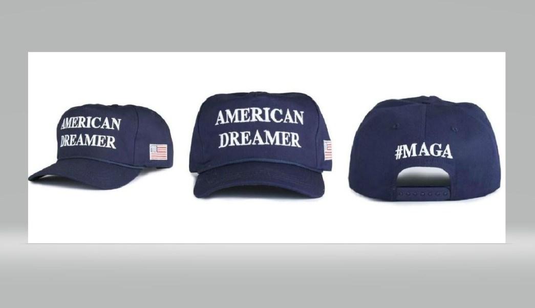 La campaña de Trump vende gorra con la frase  soñador estadounidense  2e87044c683