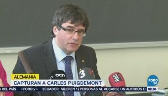 Capturan a Carles Puigdemont