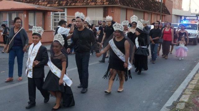 Clausuran Carnaval de Campeche 2018 con desfile de reyes