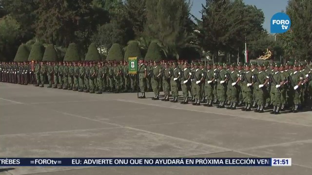 Ceremonia de clausura del curso para sargentos