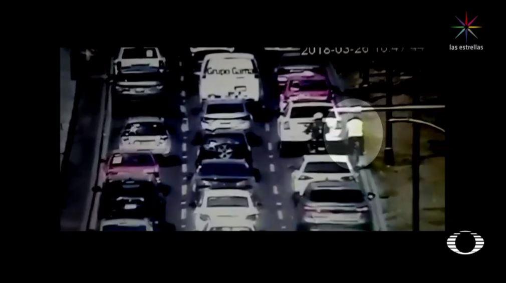 detienen a ciclista que circulaba en viaducto miguel aleman