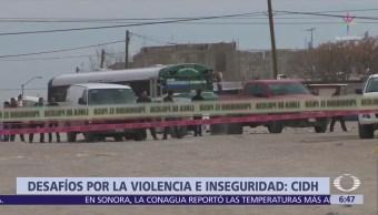 CIDH recomienda fortalecer a las Policías en México