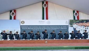 cienfuegos clausura cursos sargentos secretario defensa
